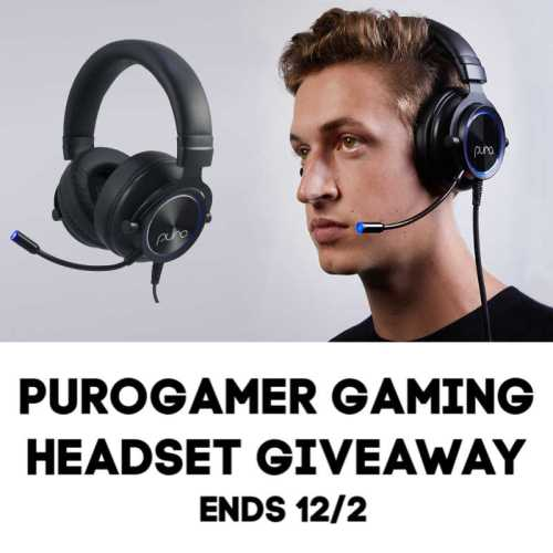 🎄 Enter and you could #WIN a PuroGamer Gaming Headset for the gamer on your gift list when this #SMGN Holiday Gift 🎁 Guide #Giveaway ends 12/2. @SMGurusNetwork @las930 @PuroSoundLabs