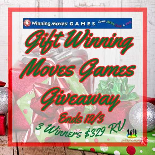 🎄 Enter and you could be 1 of 3 who will #WIN over $300 in Winning Moves Games for family game night when this #SMGN Holiday Gift 🎁 Guide #Giveaway ends 12/3. @SMGurusNetwork @las930 @winningmovesusa