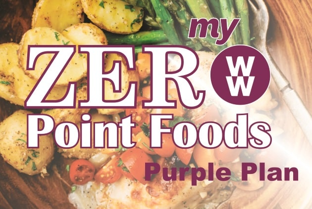 With myWW Purple you've got a small number of SmartPoints to spend on any food you choose and 300+ ZeroPoint foods that are zero!