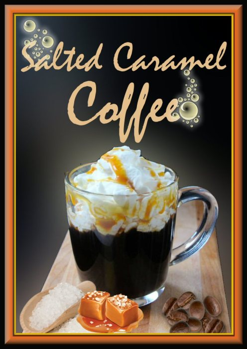 Crave Salted Caramel Coffee Drink