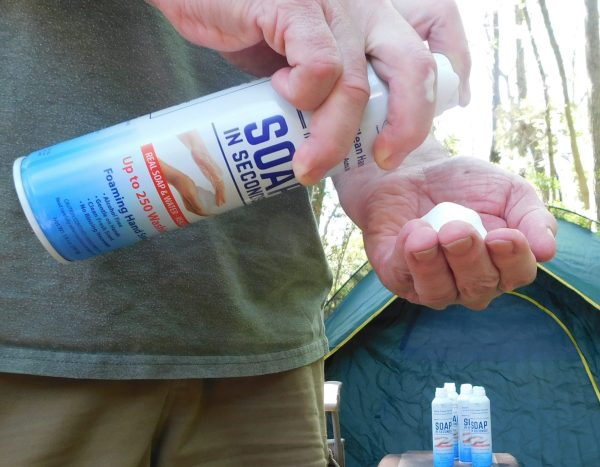 #WashYourHands with Soap in Seconds - Real Soap and Water Alternative to Hand Sanitizer When You're On The Go #staysafe #protectyourself #covid_19
