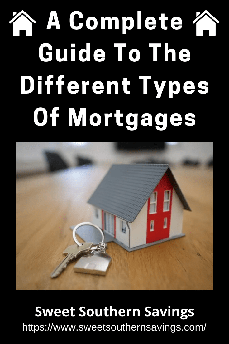 A Complete Guide To The Different Types Of Mortgages:  If you're buying a home, your mortgage selection is going to determine your finances for a long time — so you'll need to understand the different types of mortgages. #home #finance #mortgage