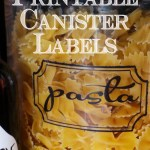 printable kitchen canister labels