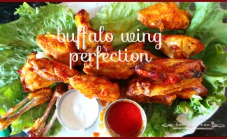 Buffalo Wing Perfection — crisp and juicy