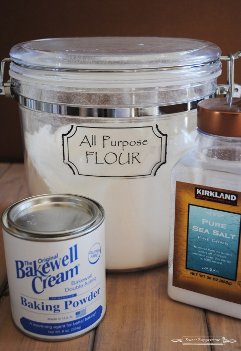 how to make self-rising flour, self rising flour