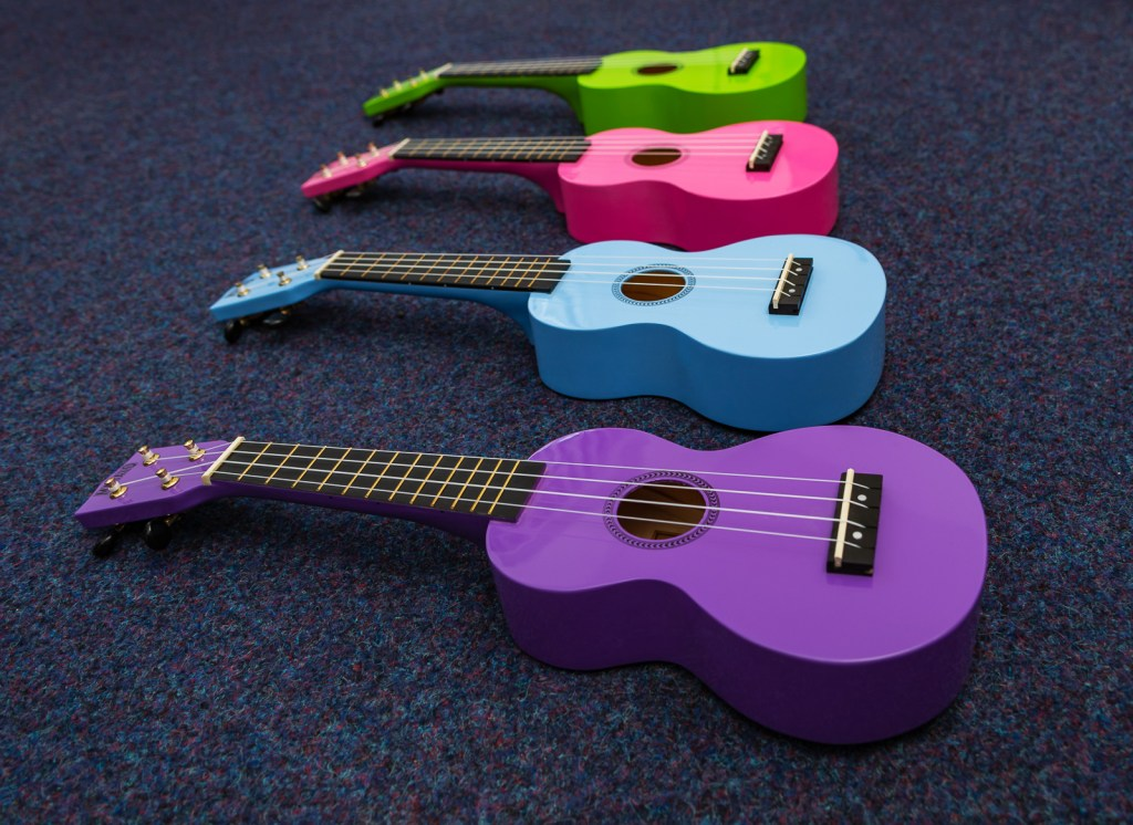 Sweet Symphony offers Ukulele Lessons to Students of all ages and abilities from their Studio in Washington, Tyne and Wear.