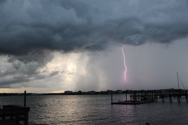 Lightning Over Wilmington