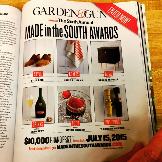 Made in the South Awards Call for Nominations