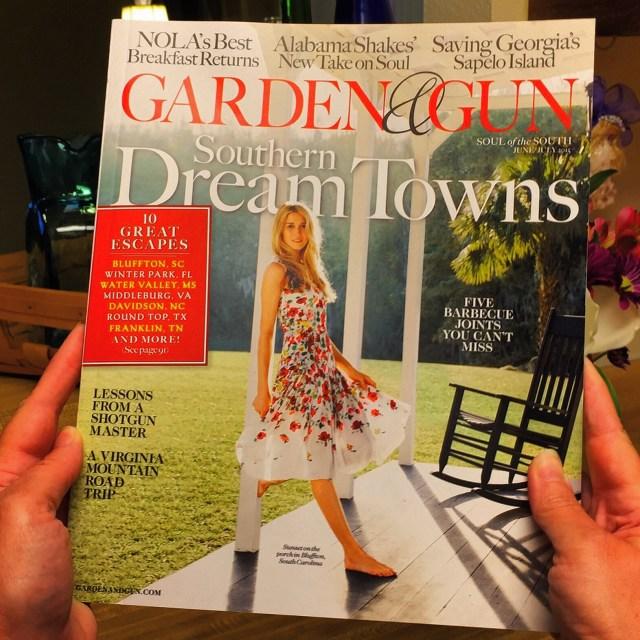 June/July Cover of Garden & Gun