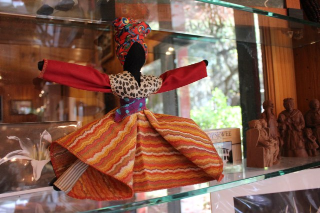African Doll in the Gift Shop