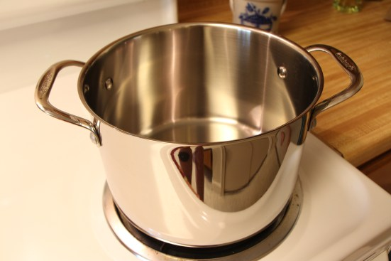 Straight Sided Pot