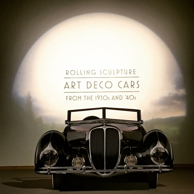 Rolling Sculpture: Art Deco Cars of the 1930's and '40's