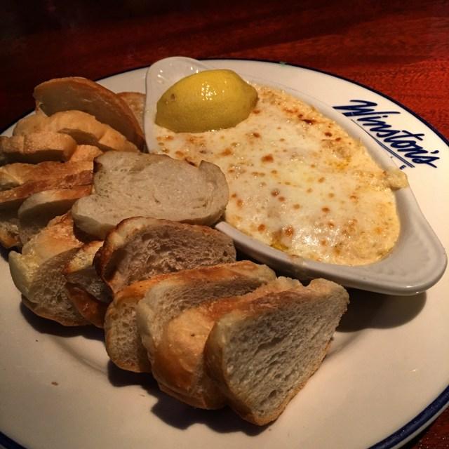 Carolina Crab Dip served piping hot!