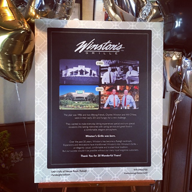 Winston's Grille Then & Now