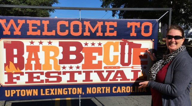 The Barbecue Festival in Lexington, NC