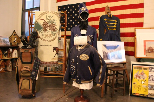 Historic Items on Display at the Welcome Center