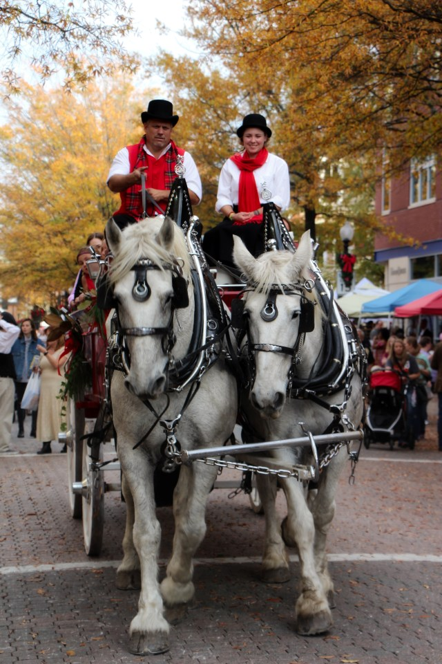 Coachmen Driving the Carriages Around Town