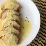 Pork Tenderloin with Mustard Cream Sauce - Sweet Tea & Thyme