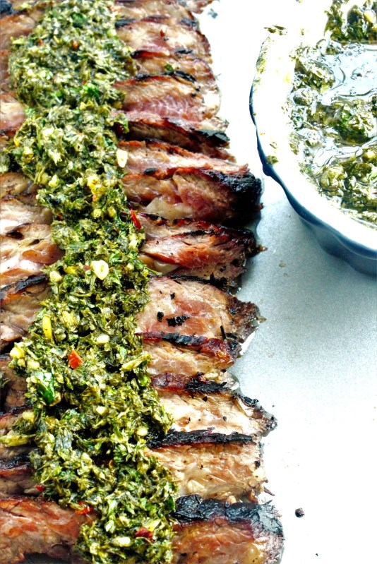 Mojo marinated churrasco, aka a marninated skirt steak with vibrant citrus flavors, is a Hispanic staple that needs to come to your grill this summer!
