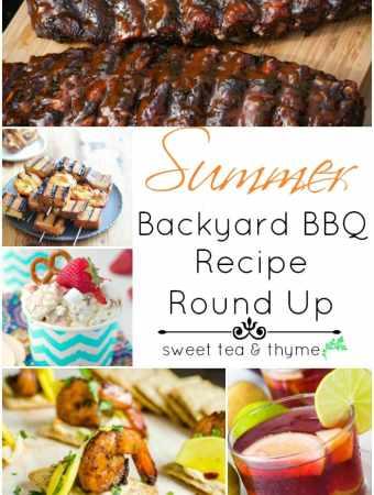 Backyard Bash – A 4th of July Recipe Round Up!