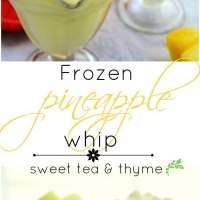 Frozen Pineapple Whip (FAIL!)