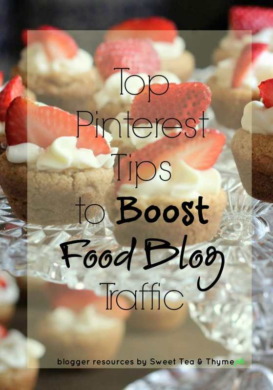 Top Pinterest Tips to Boost Food Blog Traffic