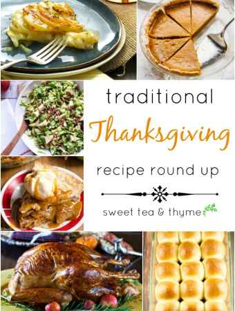 Thanksgiving Traditions, a Recipe Round up!