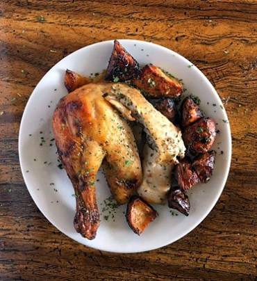 Juicy, flavorful AND easy and simple to make? This is the roast chicken recipe that will NEVER disappoint with my secret ingredient!