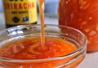 Sweet Chili Sauce may become your new favorite condiment. It's easy to make, lasts a while and uses real ingredients you already have in your pantry!