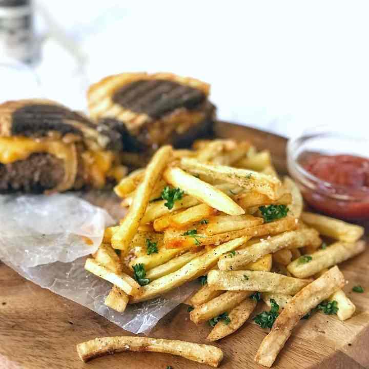 Homemade Crispy Fries