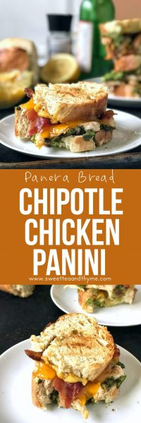Chipotle Chicken Panini, the ever loved fan favorite with cheddar, bacon, and smoky chipotle aioli, may not be served at Panera anymore but that doesn't mean you can't enjoy the beloved sandwich at home!