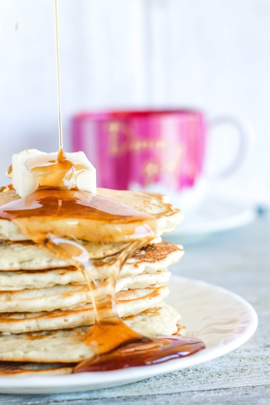 Easy Pancakes from Scratch | Sweet Tea & Thyme