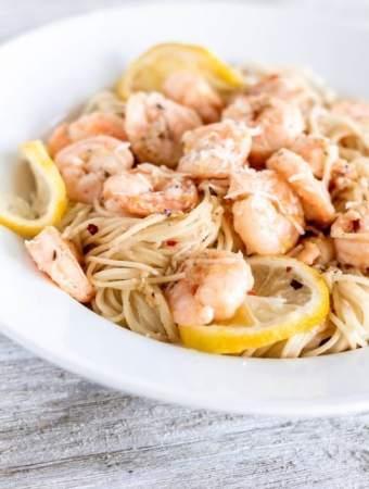 olive garden copycat shrimp scampi with pasta - Olive Garden Shrimp Scampi