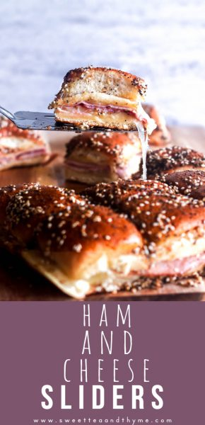 Ham and Cheese Sliders are a fun, easy, and crazy delicious freezer-friendly dish that is a hit at get togethers with adults and kids alike!