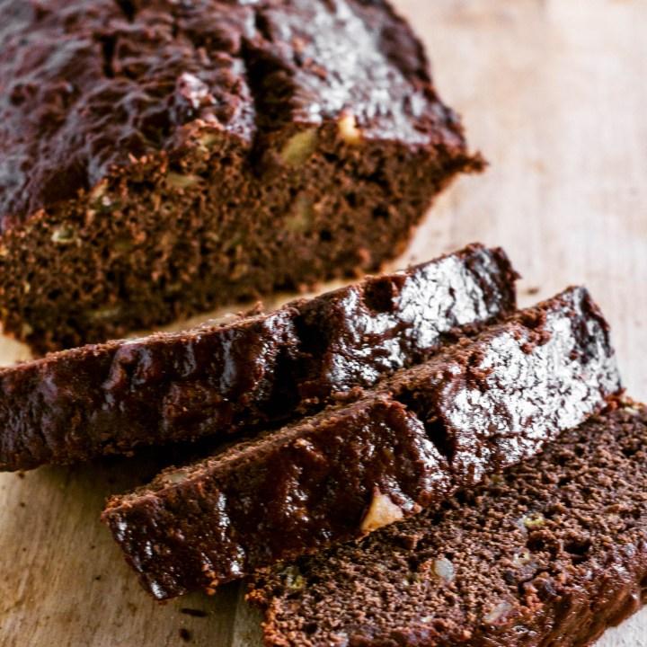 Walnut Chocolate Banana Bread