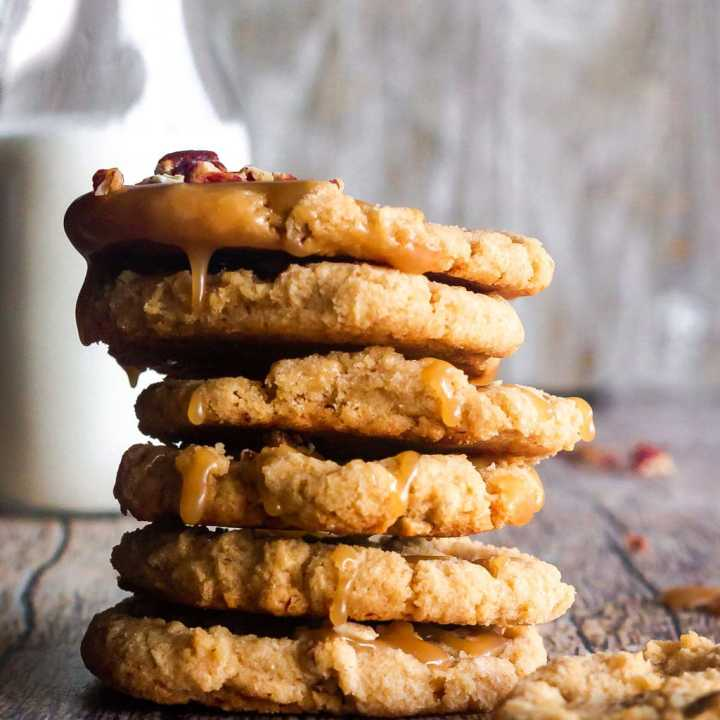 Southern Pecan Praline Cookies