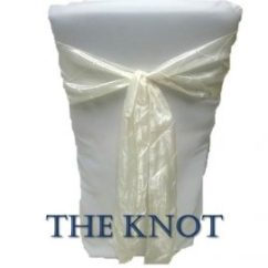 Chair Cover Alternatives Wedding Acrylic Arm 10 Ways To Tie A Sash The Knot Is Very Simple And Second Only Bow It One Of Fastest Easiest Providing Slightly Different