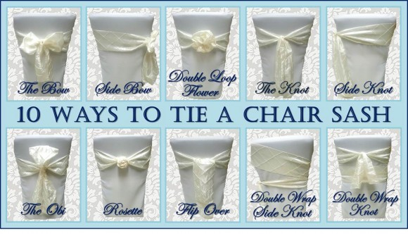 where to buy chair sashes pier 1 swing 10 ways tie a sash