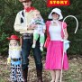 Family Halloween Costume Idea Toy Story Theme Sweet T