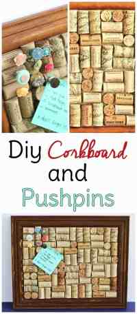 Make Your Own Cork Board with Wine Corks
