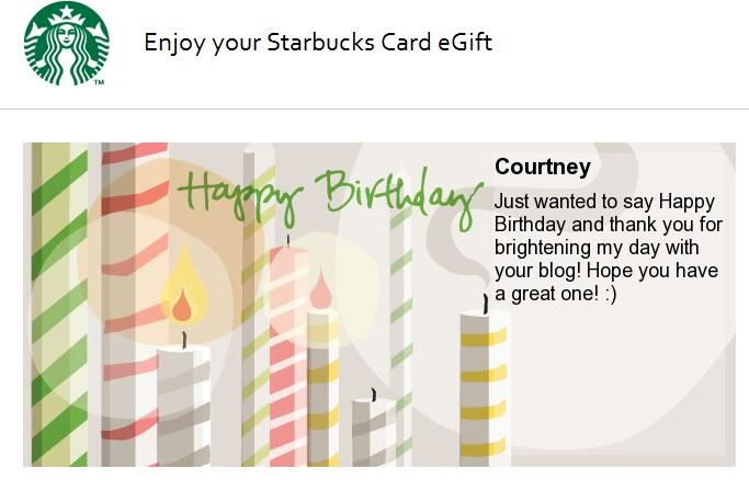 starbucks electronic gift card | Infocard.co