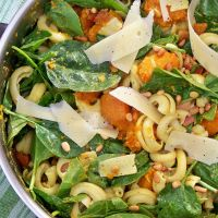 Pumpkin and Pesto Pasta Salad