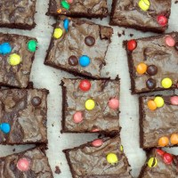 The Lazy Cook's Melt and Mix Cocoa Brownies