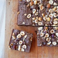 The Lazy Cook's Buckwheat Brownies {gf}