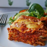 Easy Cheesy Lasagne