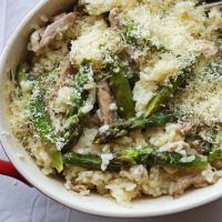 Bill's Oven-baked Chicken & Asparagus Risotto