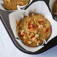 Corn & Zucchini Muffins {vegan, gf}