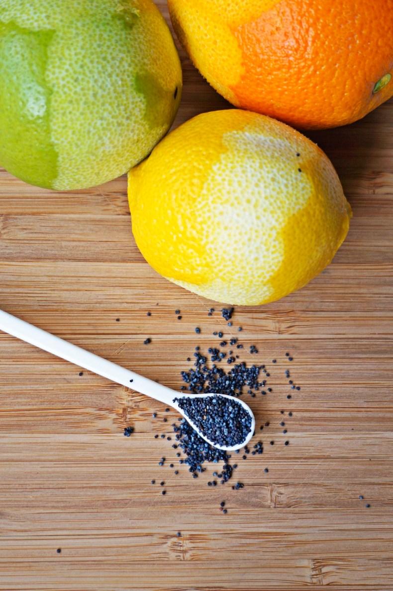 Citrus Poppy Seed Cake {vegan, gf}