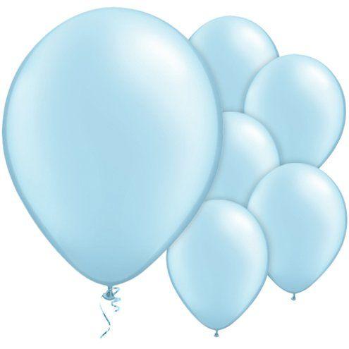 Blauwe pearl ballonnen
