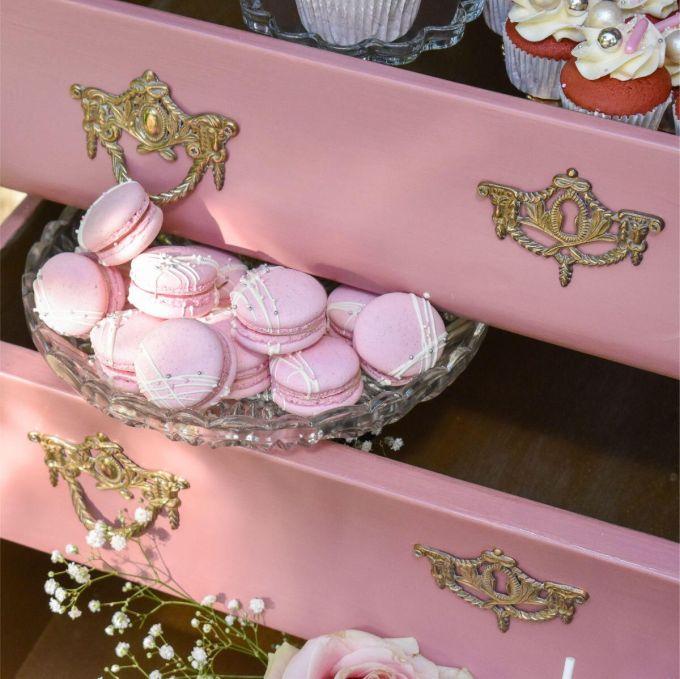 Pink Lush Macarons